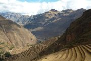 View from Pisac Inca Ruins
