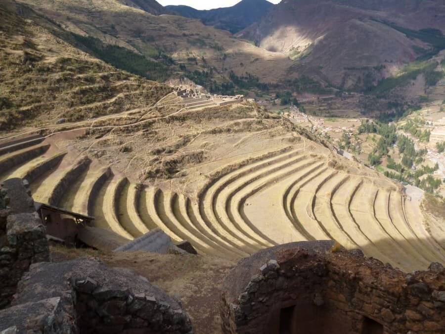 View from Pisac Ruins