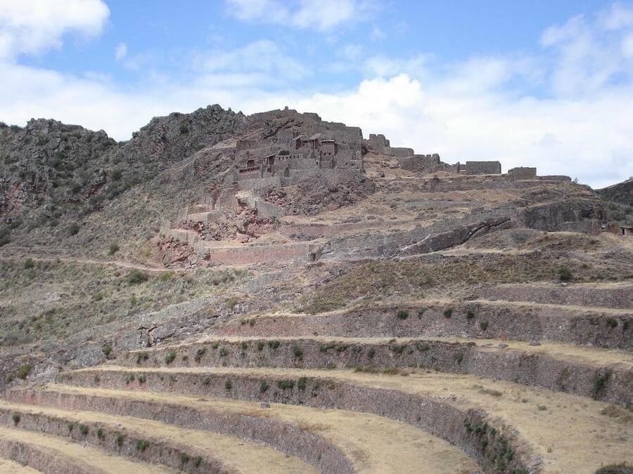 View of Pisac ruins