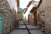 Old streets in Ollantaytambo