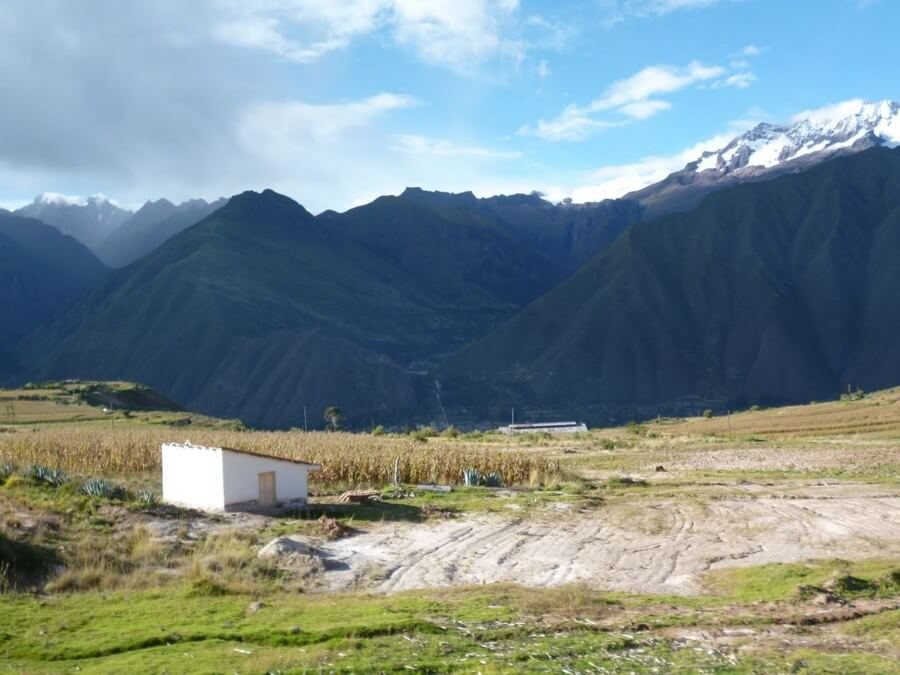Snowcapped mountain in Sacred Valley