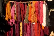 Wool dyeing in Chinchero