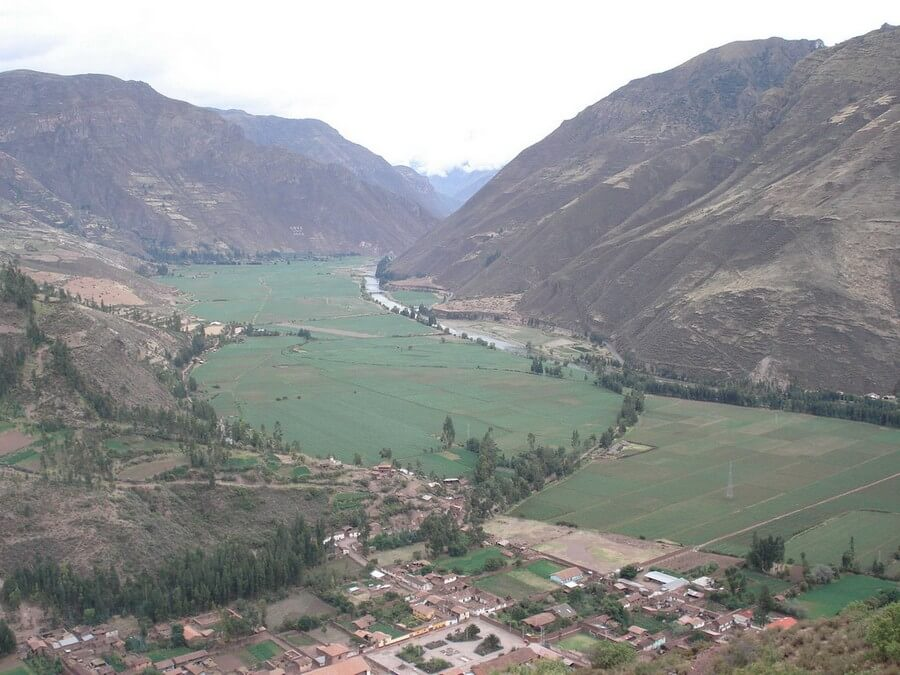 View over Sacred Valley