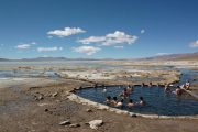 Hot Spring in Salar Tour