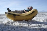 funny pictures on Uyuni Salt Flat