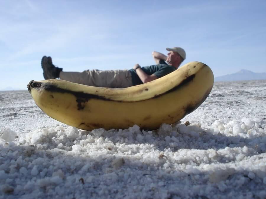 funny pictures on Uyuni Salt Flat