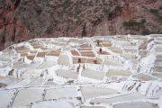 Salt pans in Salineras de Mara