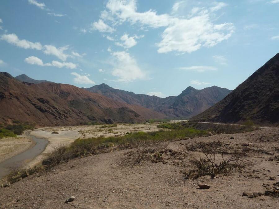 Road to cafayate