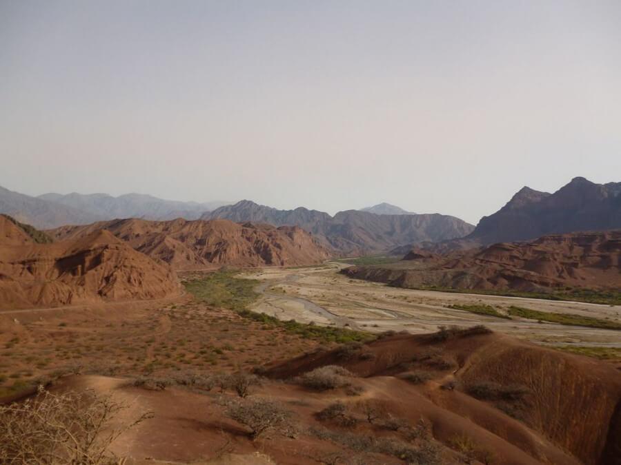 Desert of el cafayate
