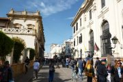 Shopping street in Salta