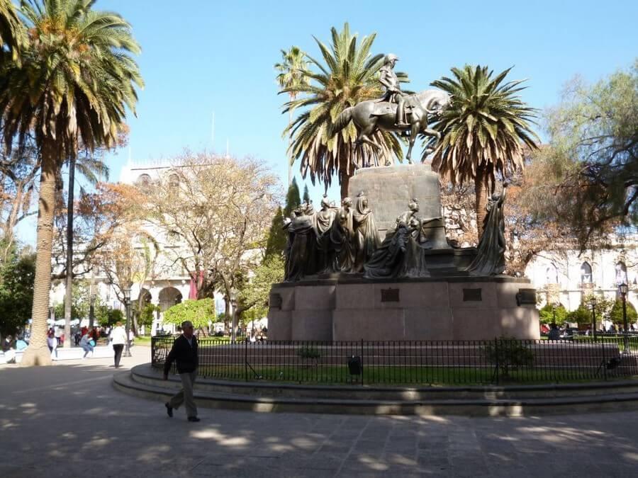 Monument in Salta