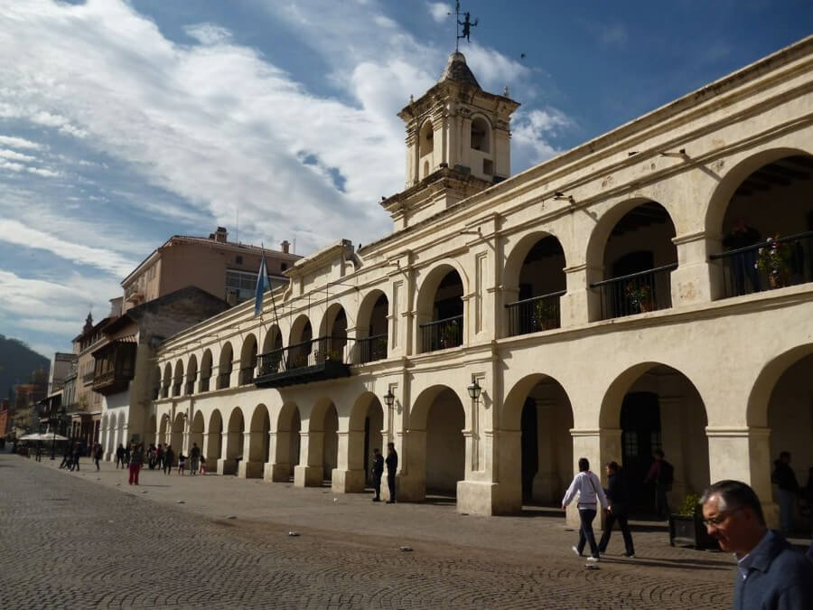 Colonial center of Salta