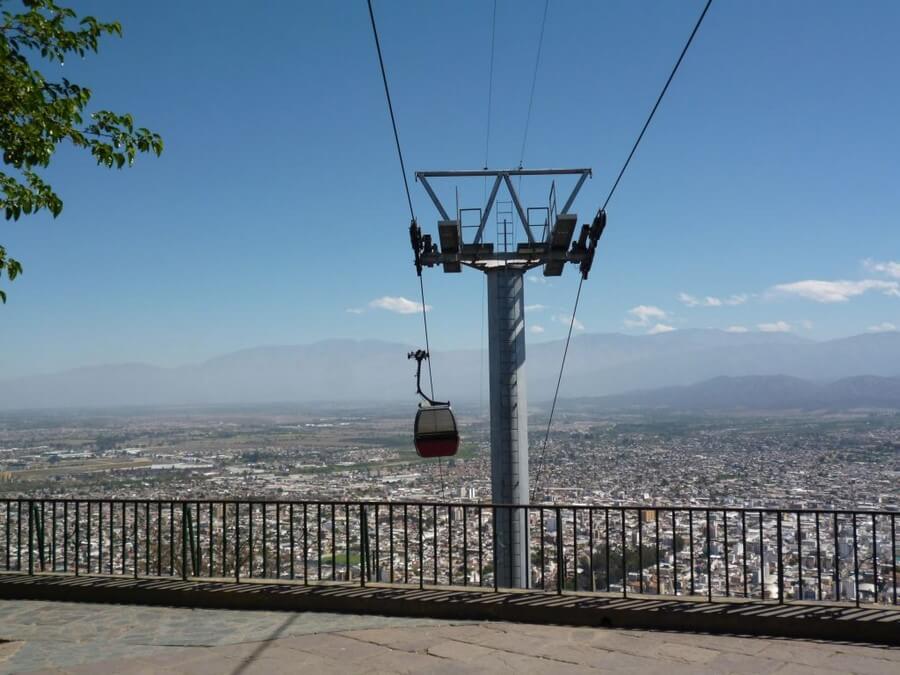 The Teleferico in Salta