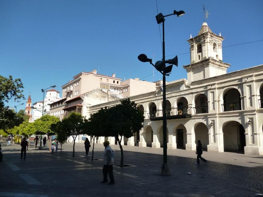 Plaza of Salta