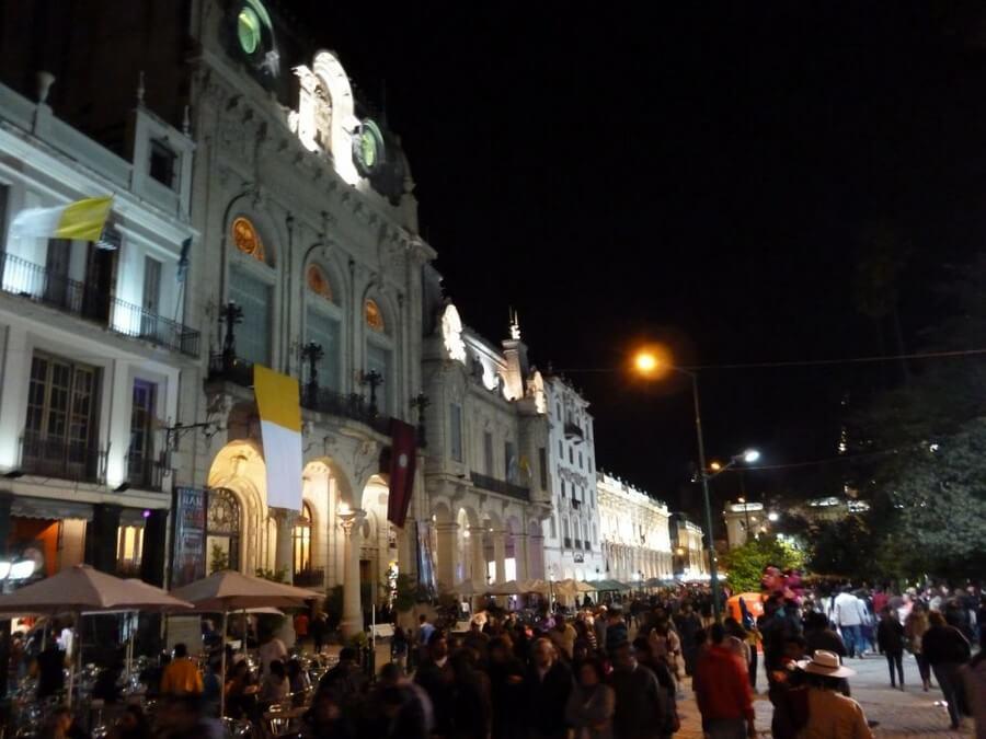 Salta, Argentine at night