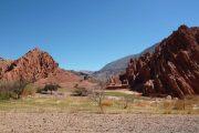 La montaña colorada
