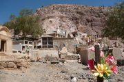 Cemetery at Montaña Colorada