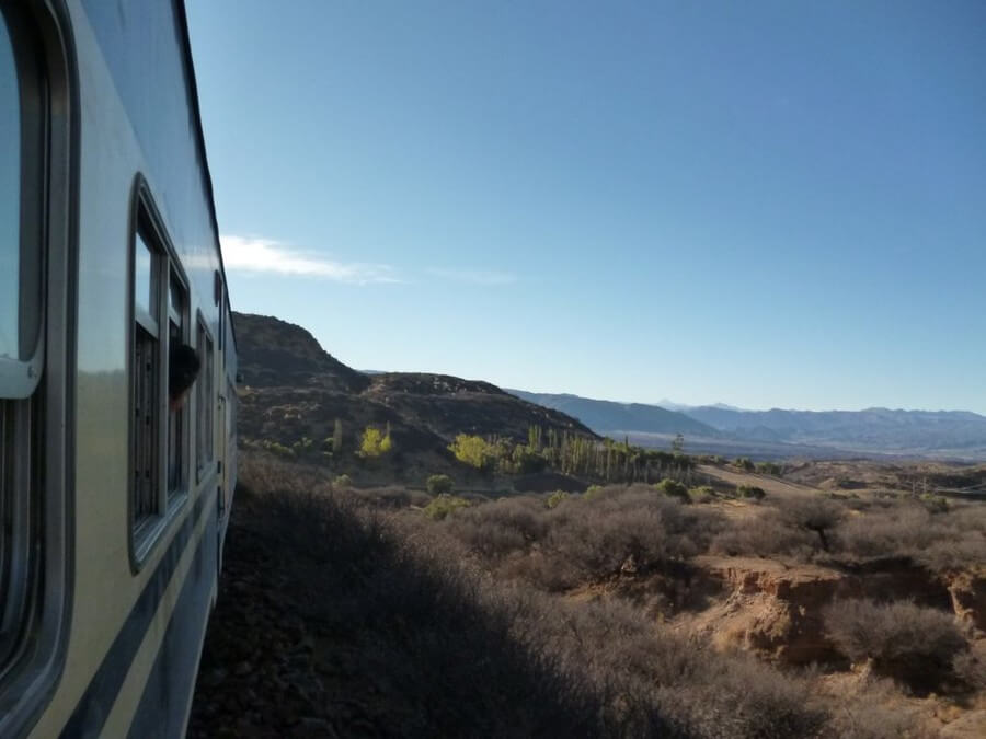 By train from Argentine to Bolivia