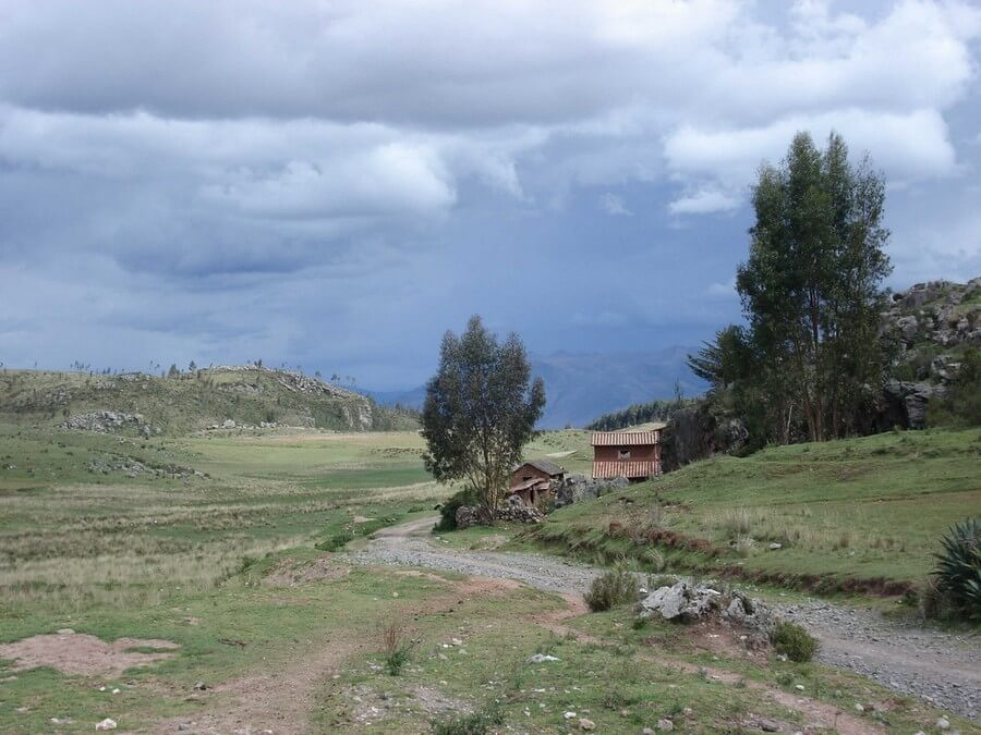 Coutryside around Cusco