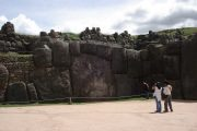 Huge rocks at Sacsayhuaman