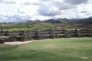 Square at Sacsayhuaman