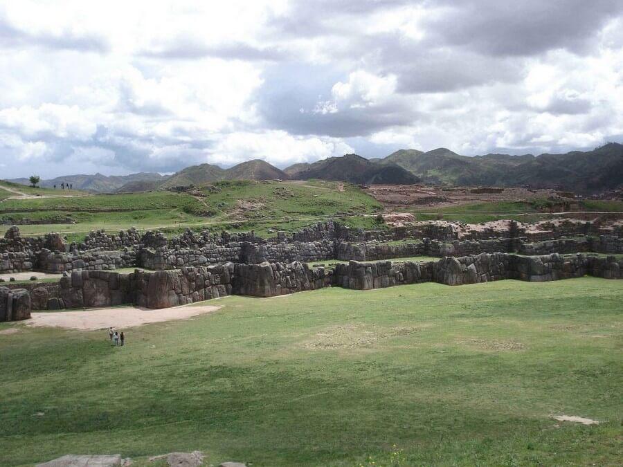 Square at Sacsayhuaman