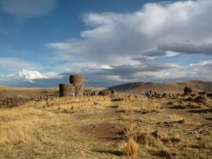 Tomb towers of Sillustani