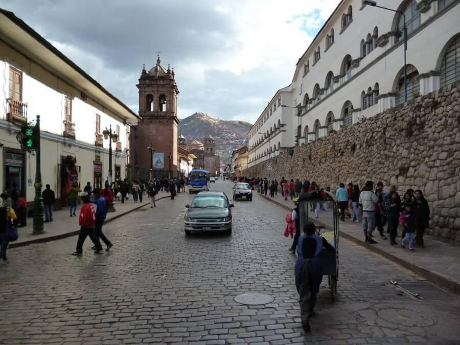 Old center of Cusco