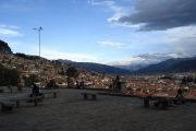 View from Plaza San Cristobal, Cusco