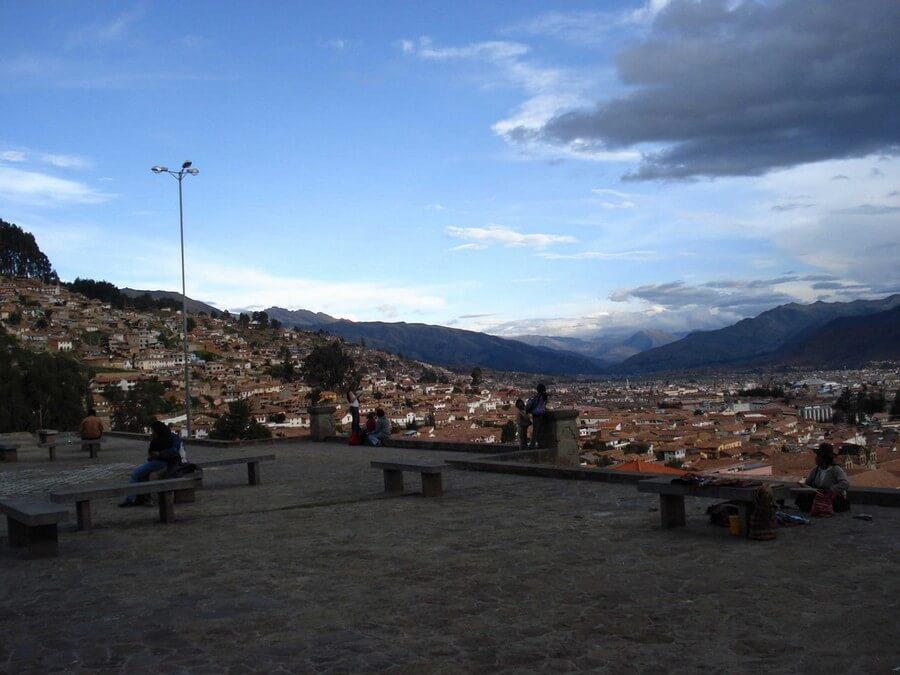 View from Plaza San Cristobal, Cusco