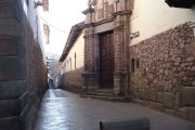 Inca street in Cusco