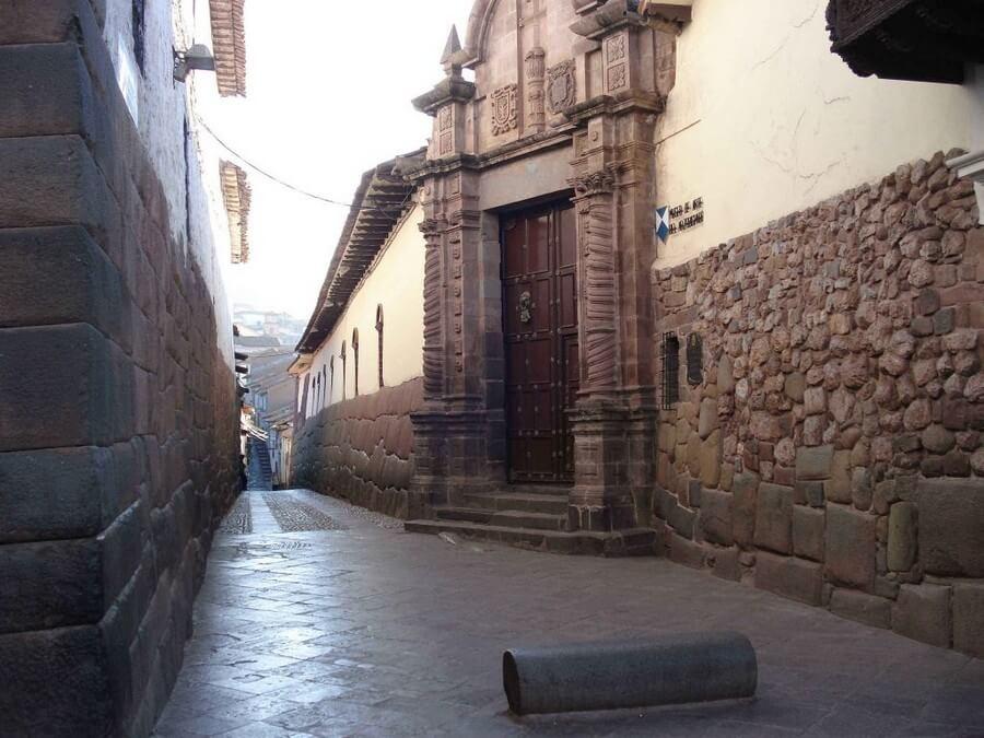 Inca street in Cusco