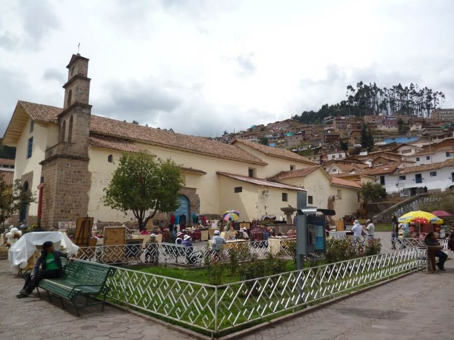 Plaza San Blas in Cusco