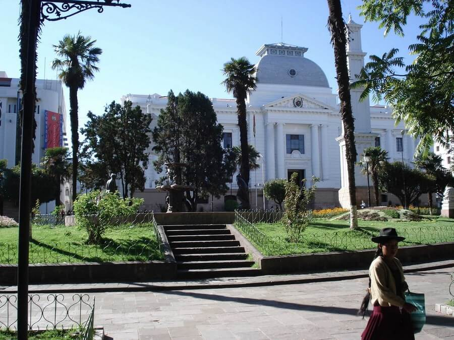 Sucre, the capital of Bolivia