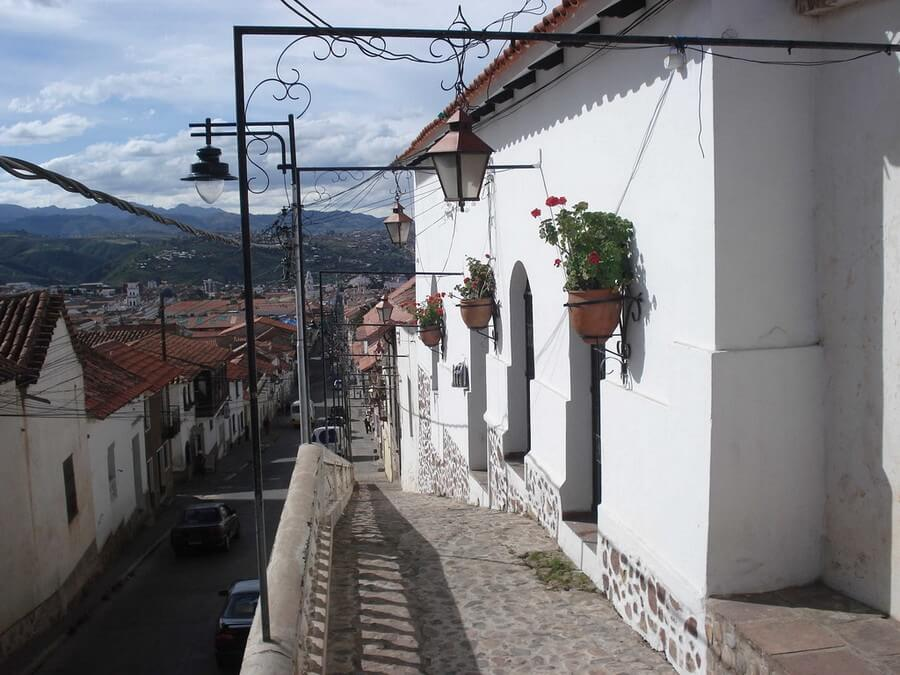 Colonial streets in Sucre