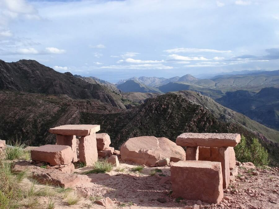 View during hike in Bolivia