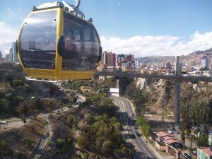 Teleferico in La Paz
