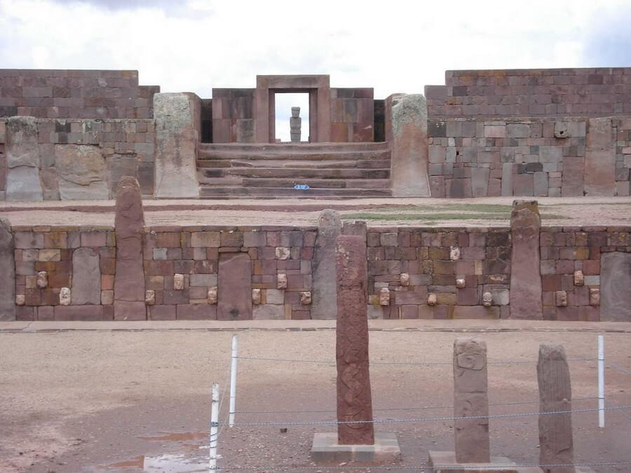 Statues at Tiahuanco
