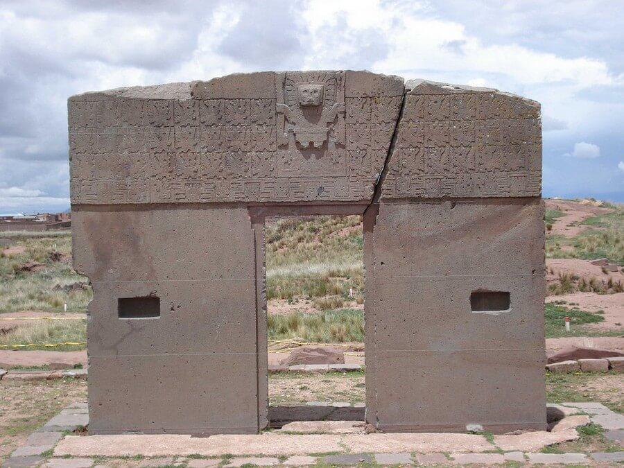 Sun Gate at Tiahuanaco