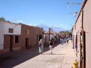 Main street in San Pedro de Atacama