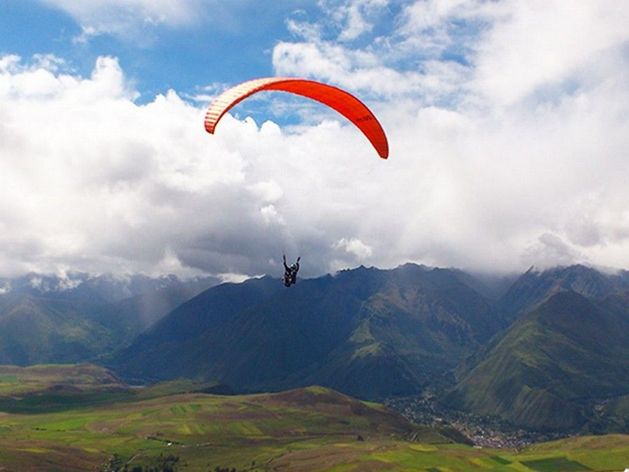Paragliding Cuzco Peru