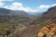 Inca terraces in Colca Valley
