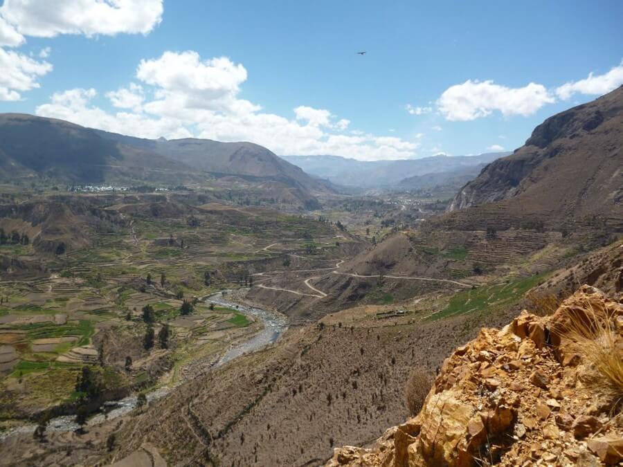 Colca Vallei maatreizen Peru