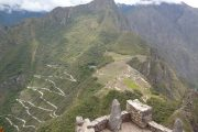 View from Huayna Picchu Mountain