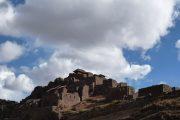 View of Pisac Inca Ruins