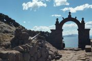 Gate on Taquile Island