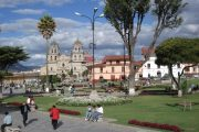 Plaza de Armas in Cajamarca