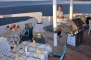 Dinner at Treasure Yacht