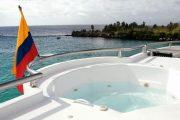 Jacuzzi on Treasure Yacht