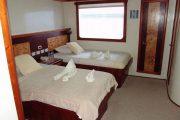 Cabin of the Galapagos Treasure Yacht